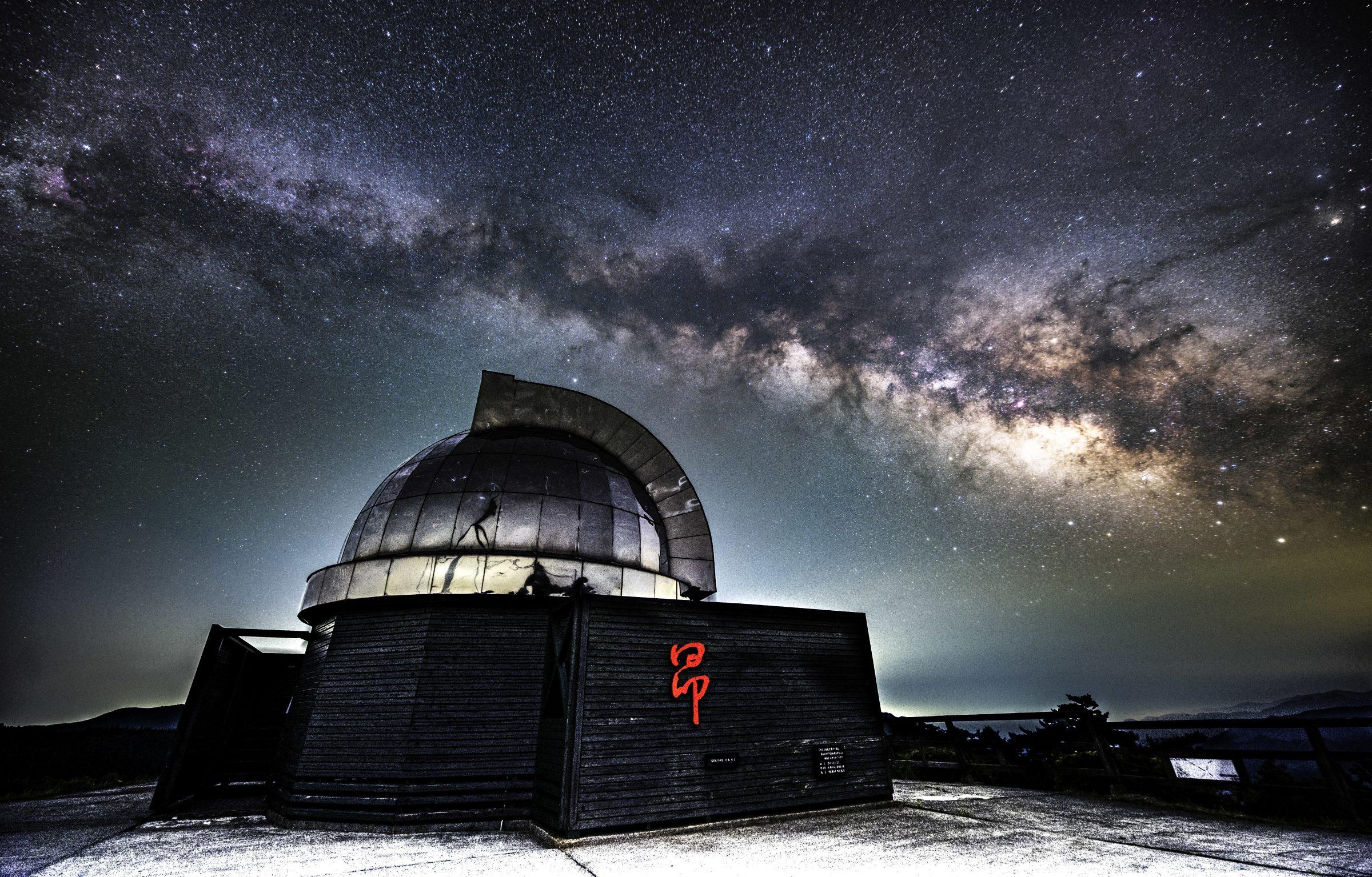 中小屋天文台「昴ドーム」